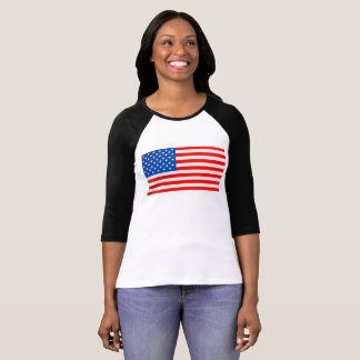 Camiseta Bandera nacional de Estados Unidos