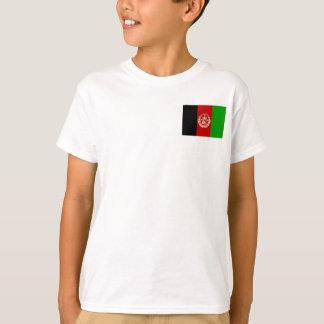 Camiseta Bandera nacional del mundo de Afganistán