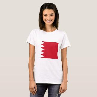 Camiseta Bandera nacional del mundo de Bahrein
