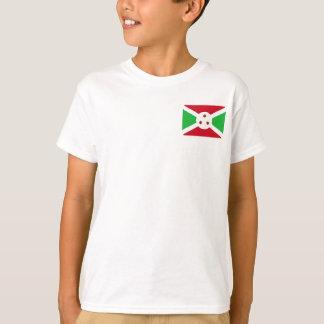 Camiseta Bandera nacional del mundo de Burundi