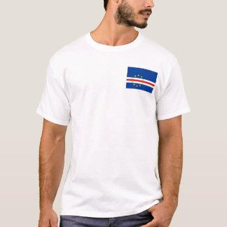 Camiseta Bandera nacional del mundo de Cabo Verde