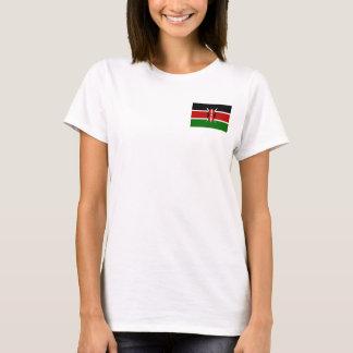 Camiseta Bandera nacional del mundo de Kenia