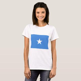 Camiseta Bandera nacional del mundo de Somalia