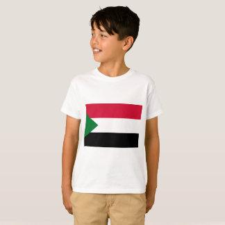 Camiseta Bandera nacional del mundo de Sudán