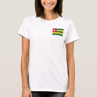 Camiseta Bandera nacional del mundo de Togo