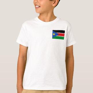 Camiseta Bandera nacional del sur del mundo de Sudán