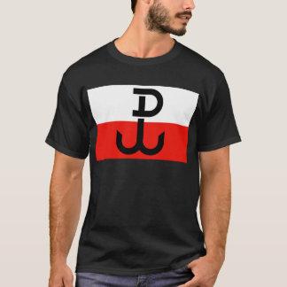 Camiseta Bandera polaca de la resistencia