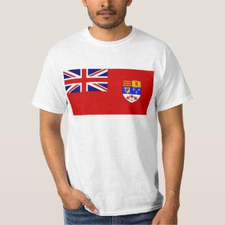 Camiseta Bandera roja canadiense de la bandera