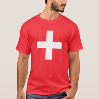 Camiseta bandera suiza