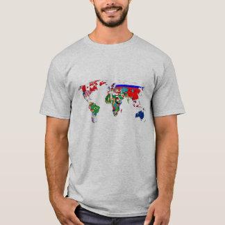 Camiseta Banderas del mundo