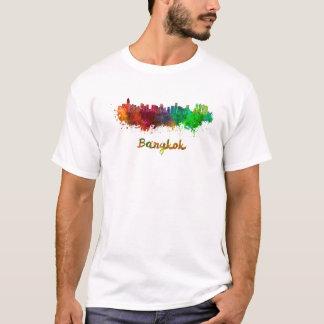 Camiseta Bangkok skyline in watercolor