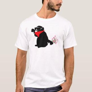 Camiseta banksy monkey