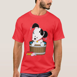 Camiseta Baño del perrito