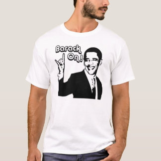 Camiseta ¡Barack encendido!