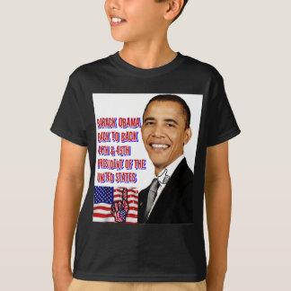 Camiseta Barack Obama, de nuevo a Back_