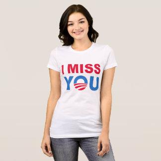 Camiseta Barack Obama que le falta junta con te
