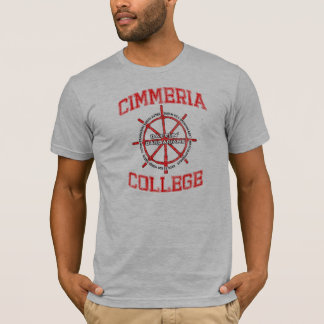 Camiseta Bárbaros de Battlin de la universidad de Cimmeria