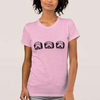 Camiseta barbuda del collie