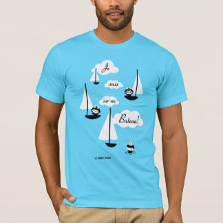 Camiseta ¡Barco de la O.N.U del sur de los suis de Je!