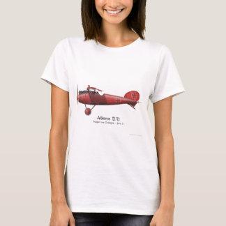 Camiseta Barón rojo aka Manfred von Richthofen y su avión