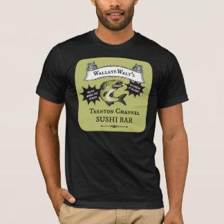 Camiseta Barra de sushi del canal de Trenton de Walt de los