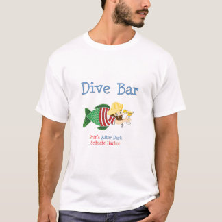 Camiseta Barra destruida de la zambullida, básica