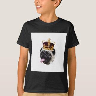 Camiseta Barro amasado del recorte en una corona