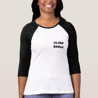 Camiseta basada planta del béisbol