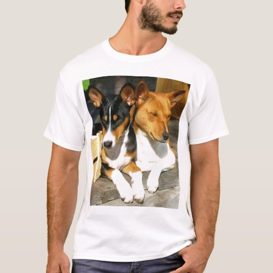 Camiseta Basenji Tucson y Basja