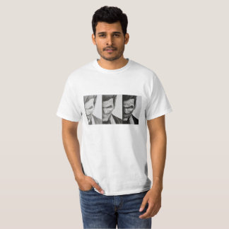 Camiseta básica blanca con imagen del Joker