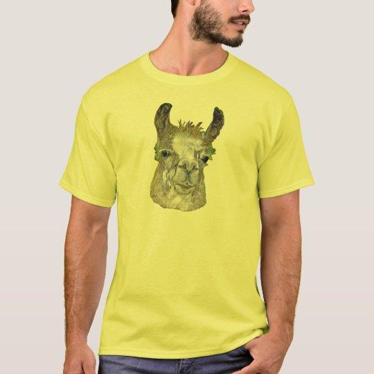Camiseta básica de la imagen de la llama
