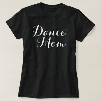 Camiseta básica de la mamá de la danza