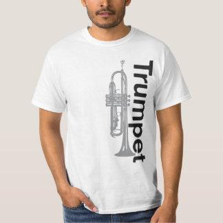 Camiseta básica de la trompeta