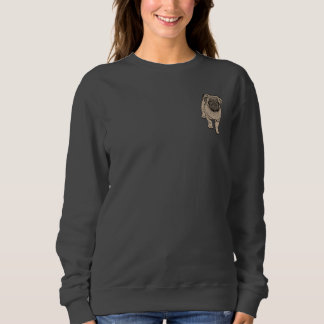 Camiseta básica del bolsillo de las mujeres lindas