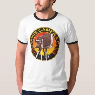 Camiseta básica del campanero del logotipo de la