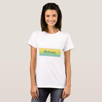 Camiseta básica del logotipo de las mujeres