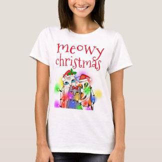 Camiseta básica del navidad de los amantes