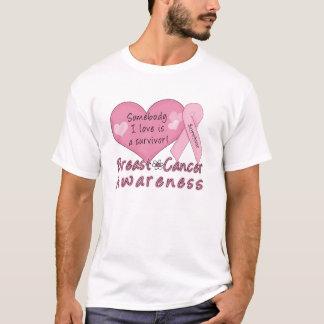 Camiseta básica del superviviente del cáncer de