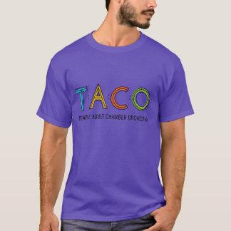 Camiseta básica del TACO, púrpura