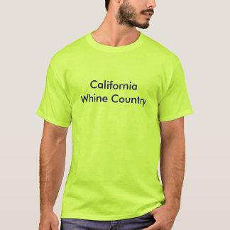 Camiseta básica para hombre con el país del