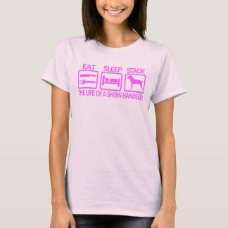 Camiseta Bastón Corso w/logo rosado