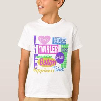 Camiseta Bastón vivo
