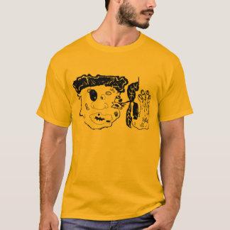 Camiseta bata para arriba el arte gráfico