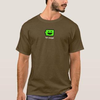 Camiseta Batería androide feliz