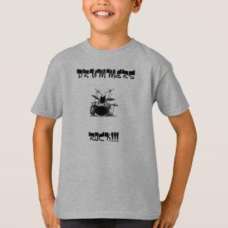 Camiseta ¡Batería, BATERÍAS, ROCA!!!