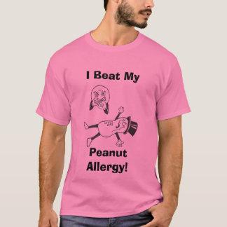 Camiseta ¡Batí mi, alergia del cacahuete!