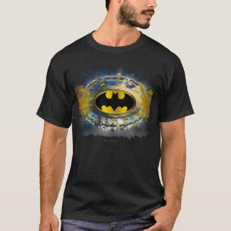 Camiseta Batman adornó el logotipo