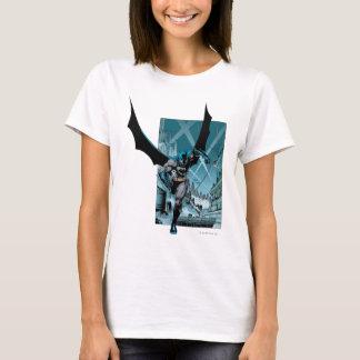 Camiseta Batman con el fondo de la ciudad