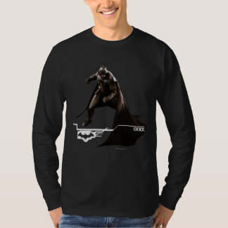 Camiseta Batman que se coloca con el cabo