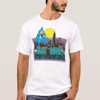 Camiseta Batman y letras